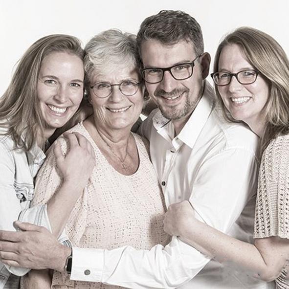 Famile portret
