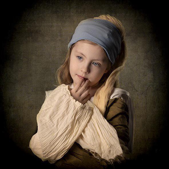 Kinder Fotografie oude meesters