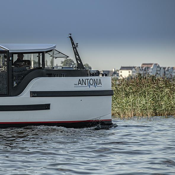 Bedrijfs Fotografie the Antonia Lounge Boat Loosdrecht
