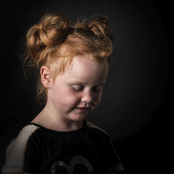 Kinder Portret Ginger girl
