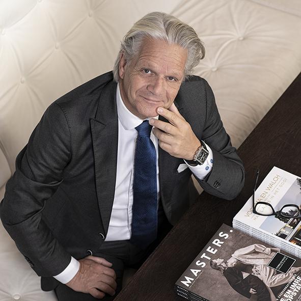 Zakelijk Portret Jacques Walch