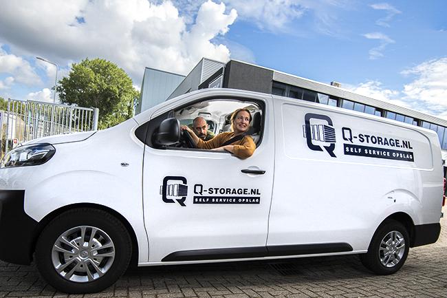 Bedrijfsfotografie Q-Storage Hilversum