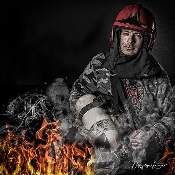 zakelijk portret brandweerman