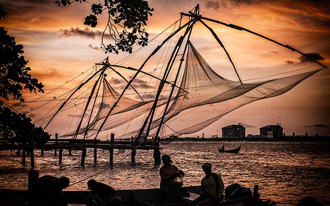 Chinees Fishing nets Kochi India